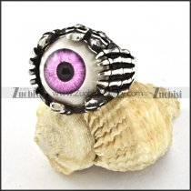 high quality Steel Biker Evil Eye Ball Ring with punk style for Motorcycle bikers - r000531