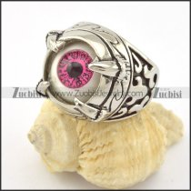 Purple Blinked Evil Eye Ring r001297