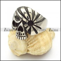 Stainless Steel Skull Rings -r000430