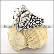 high quality Stainless Steel Biker Ring with punk style for Motorcycle bikers - r000526