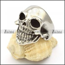 Stainless Steel Skull Rings -r000424