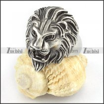 Stainless Steel Lion Rings -r000365