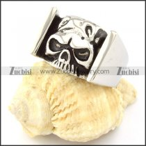 China Stainless Steel Skull Ring from biggest jewelry manufacturer -r000688