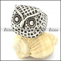 Stainless Steel Owl Rings -r000650