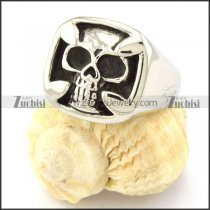 China Stainless Steel Skull Ring from biggest jewelry supplier -r000687