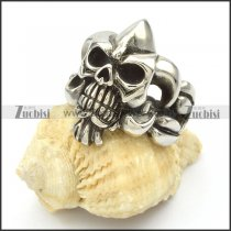 Stainless Steel Skull Rings -r000423