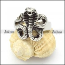 Stainless Steel The snake Rings -r000369