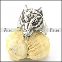 remarkable 316L Steel Wolf Rings with big sizes for 2013 collection -r000842