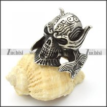 Stainless Steel Skull Rings -r000421