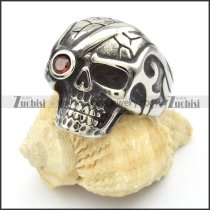 Stainless Steel Skull Rings -r000428