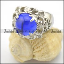1 blue stone ring for lady r001712