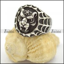 round shaped tiger ring in vintage style r001675