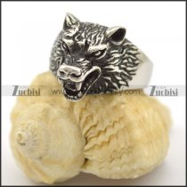 vintage wolf ring for man r001697