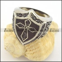 The cross on the shield ring r001402