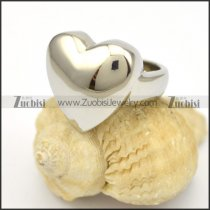 shiny heart ring r001649