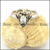 creative rings for women with clear zircon r002079