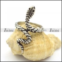 Simple Snake Ring r001846