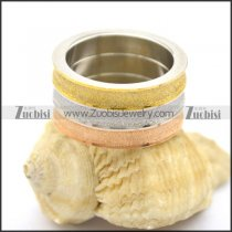 3 tones included metal rose gold and gold-plating shimmering powder ring r002192