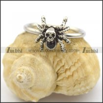 spider ring with black stone for women r002206