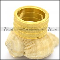 yellow gold shimmering powder ring r002191