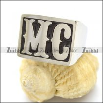 MC MotorCycle Ring for Bikers r002603