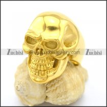 Gold Skull Jewelry in 316L Stainless Steel r002609