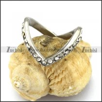 Heart Shaped Rhinestones Rings r003025