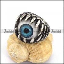 Blue Eye Ball Ring for Unisex r002873