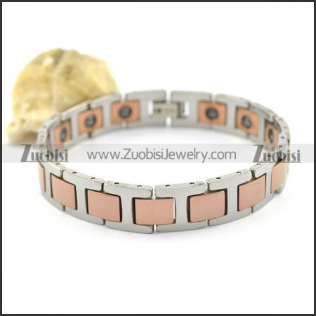 rose gold tungsten bracelet b002197
