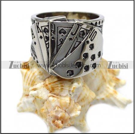 steel poker ring