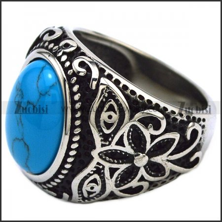 Turquoise Stone Casting Ring