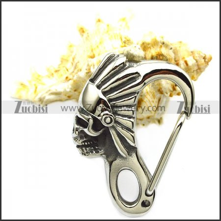 Stainless Steel Skull Clasp a000931