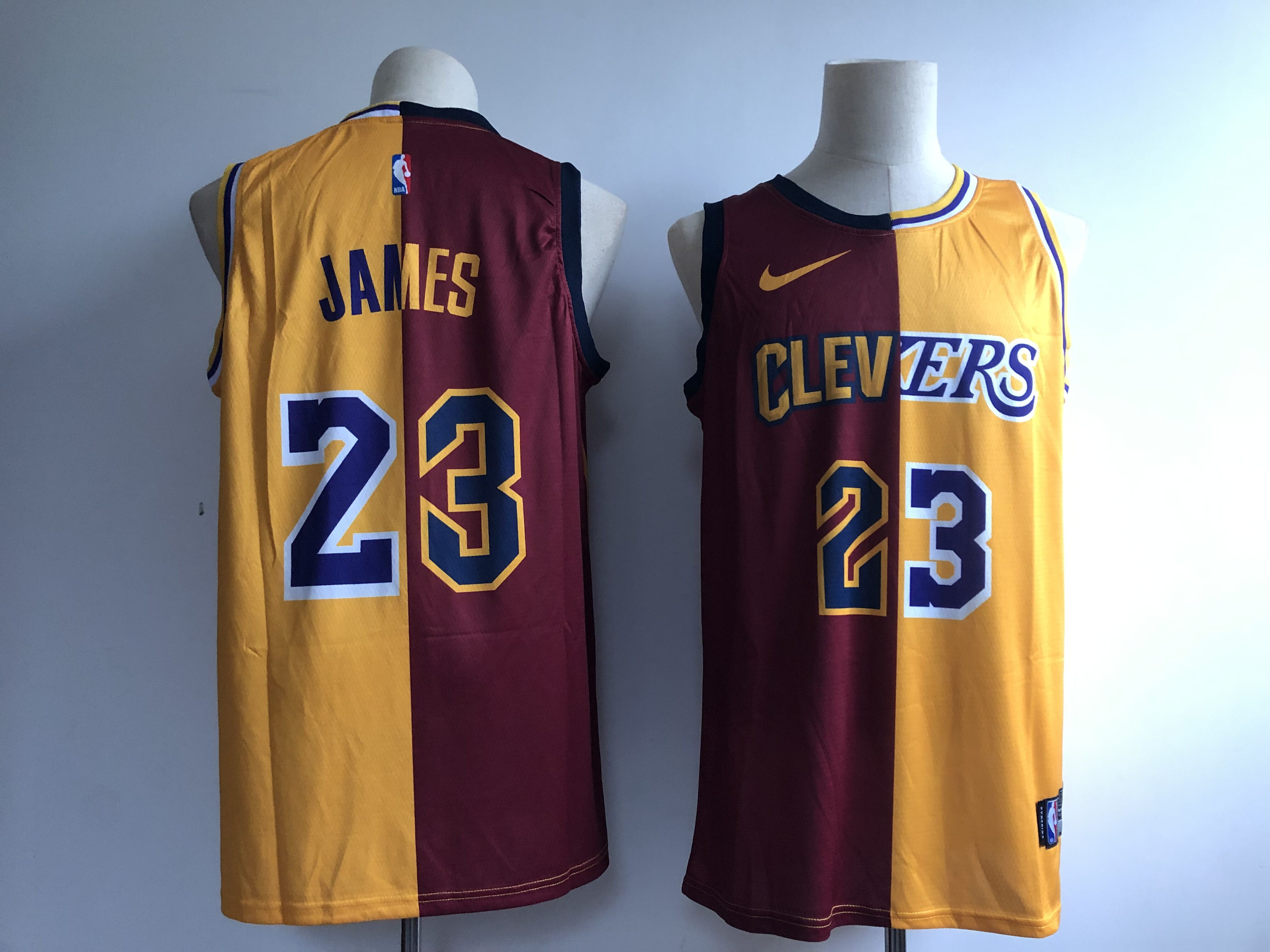 brand new 8237b ec524 Adult Cleveland Cavaliers CLE JAMES 23 Basketball Jersey
