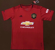 2019/20 men thai quality Manchester United PLUS SIZE XXL(2XL),XXXL(3XL), soccer jersey football shirt