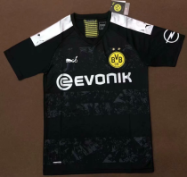 2019/20 men thai version Borussia Dortmund black PLUS SIZE XXL(2XL),XXXL(3XL), soccer jersey football shirt
