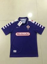 19-20 ACF Fiorentina Retro Soccer Jersey Adult Football Shirt