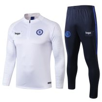 2019/20 Adult jacket Chelsea white soccer tracksuit