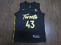 2019-20 Men Toronts basketball jersey shirt Siakam 43 black