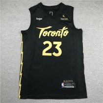 2019/20 Men Toronts basketball jersey shirt Vanvleet 23 black