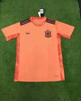 2020 Thai Version adult Spain Goalkeeper orange  European Cup soccer jersey football shirt