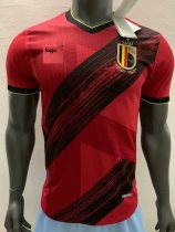2019-20 Player Version Belgium home adult soccer jersey football shirt