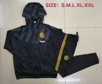 2019-20 Adult Inter Milan Wind breaker black soccer jersey football shirt