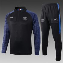 2019-20 Adult jacket PSG black soccer tracksuit