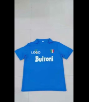 Napoli Retro Soccer Jersey Adult Football Shirt