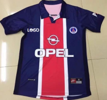 PSG Retro Soccer Jersey Adult Football Shirt