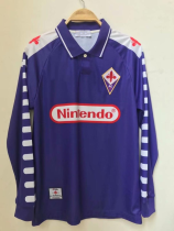 Fiorentina Retro Soccer Jersey Adult Football Shirt