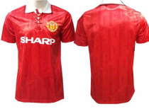 Manchester United  Retro Soccer Jersey Adult Football Shirt