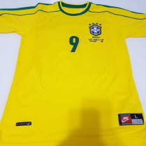 1998 Brazilian retro Soccer Jersey Adult Football Shirt