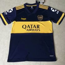 20-21 Fan Version adult Boca home soccer jersey football shirt
