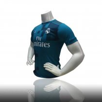 Men Soccer Jersey Blue Real Madrid Second Away Shirt Adult Soccer Kits Thailand Quality